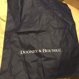 Dooney & Bourke Large Navy Purse Dust Bag